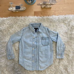 GAP Kids Boys Button Down Shirt S